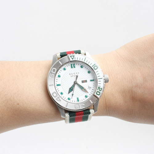 GUCCI watches G-Timeless NATO belt freight insurance with ...