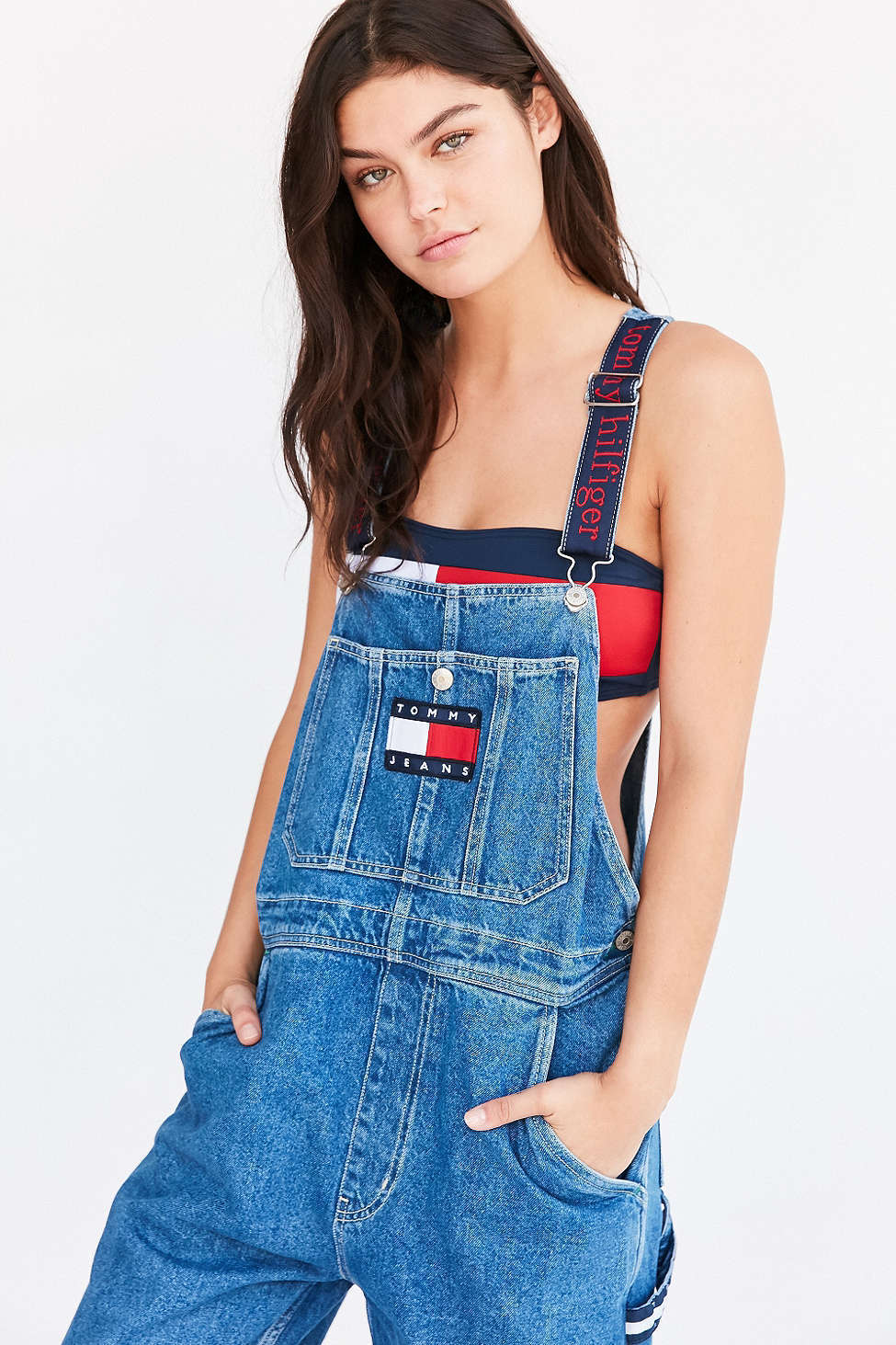 local popular belt also fashionable jeans tommy bandeau