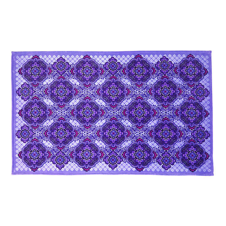 Throw Blanket Lilac Tapestry Buyma