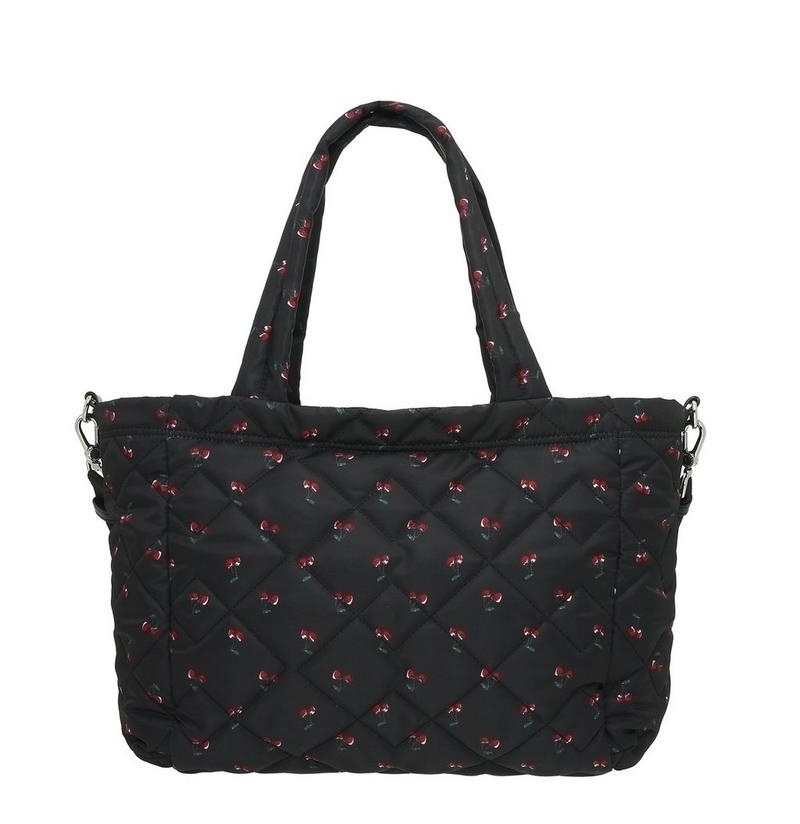 sale marc by marc jacobs cherry print diaper bag buyma. Black Bedroom Furniture Sets. Home Design Ideas
