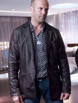Jason Statham Leather Brown Jacket, Comfortable Jacket