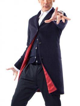 Peter Capaldi Doctor Who Black Coat