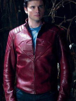 Smallville-Clark-Kent-Superman-Maroon-Jacket