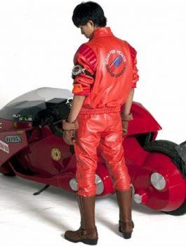 Akira Kaneda leather Jacket