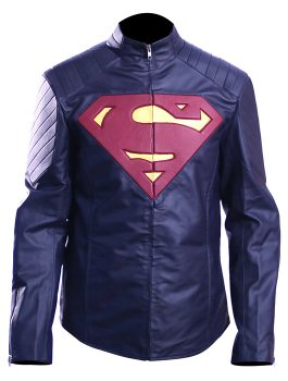 Man of Steel Henry Cavill Superman leather Jacket