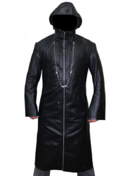 Mysterious Organization XIII Enigma leather Coat.