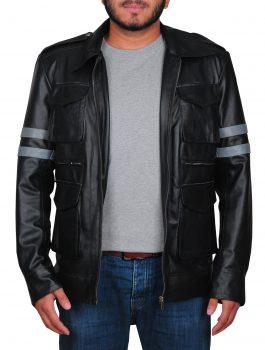 Leon Kennedy Leather Jacket, Outlook Jacket