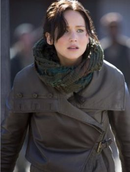 Catching Fire Jennifer Lawrence Leather Jacket