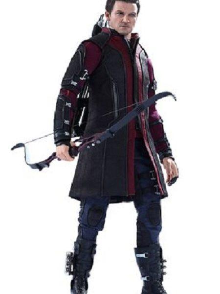 Hawkeye Leather Coat