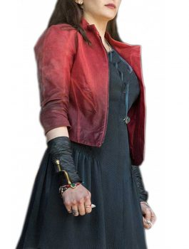 Avengers Scarlet Witch Leather Jacket