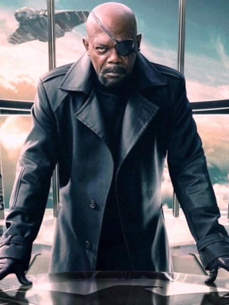Captain America The Winter Soldier Nick Fury coat