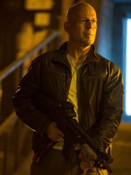 Bruce Willis a Good Day to Die Hard 5 leather Jacket