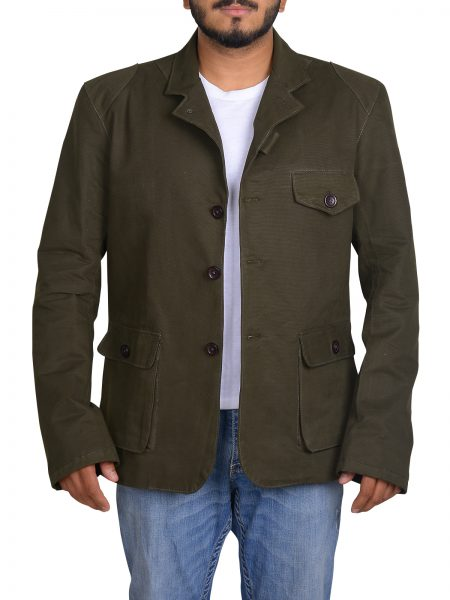 Barbour X To Ki To Beacon Heritage Sports SkyFall Cotton Jacket