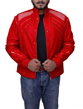Premium Beat It Song Michael Jackson Leather Jacket