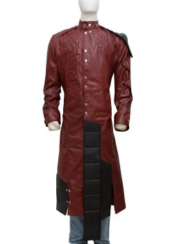 Classy Guardians Of The Galaxy Star Lord Trench Coat