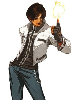 The King Of Fighters Kyo White Leather Jacket