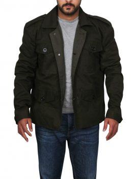 Terminator Genisys Arnold Schwarzenegger Cotton Jacket