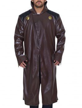 Fantastic Four 2015 Doctor Doom Mens leather Coat