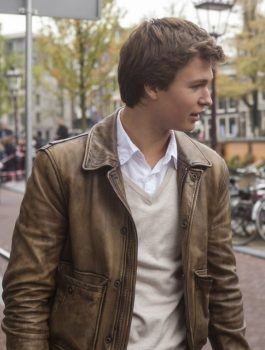 Ansel Elgort The Fault in Our Stars Jacket