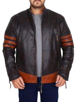Appealing Hugh Jackman Wolverine X Men Jacket (1)