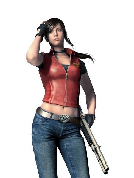 Alluring Resident Evil 4 Claire Redfield Cosplay Vest Jacket