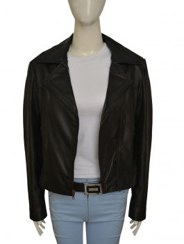 Pocket Jacket, Kardashian Black Leather