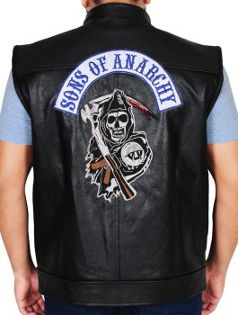 Additionally Stylish Sons Of Anarchy Leather Vest (1)