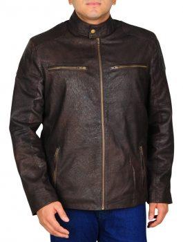 Chris Evans Captain America Brown Jacket