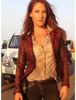 Claire Redfield Leather Jacket