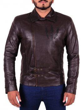 The Wild Hunt Witcher Dark Brown Leather Jacket