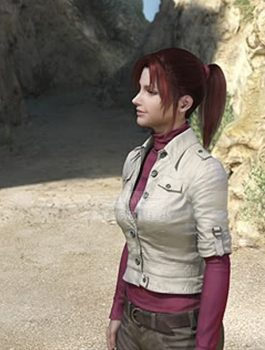 Claire Redfield Cotton Jacket