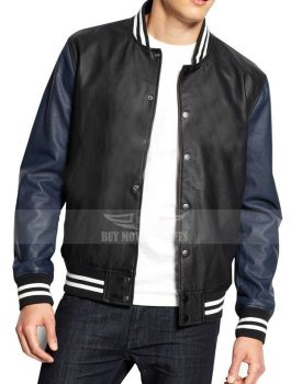 American Rag Faux Leather Varsity Letterman Jacket