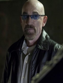 Jackie Earle Haley Criminal Activities Leather Jacket