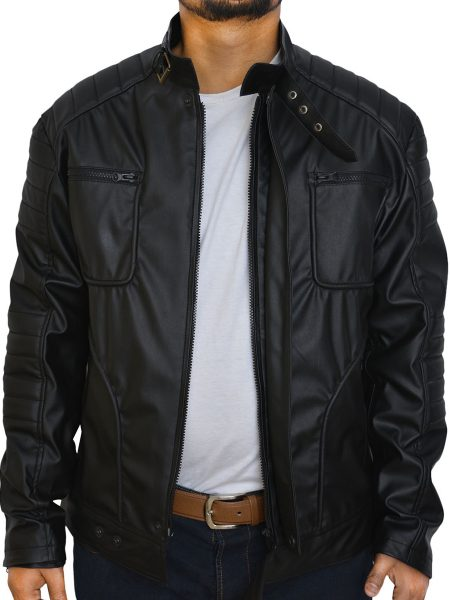 Arrow Malcolm Merlyn Leather Jacket