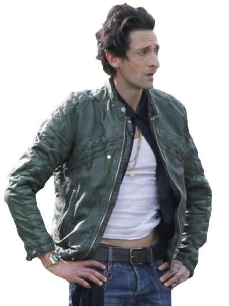American-Heist-Adrien-Brody-Green-Jacket