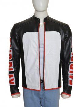 Stylish Fair Play Mister Terrific Leather Jacket