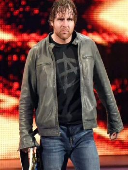 Dean Ambrose WWE Grey Jacket
