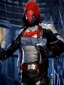 Game Batman Arkham Knight Red hood Jacket & Vest