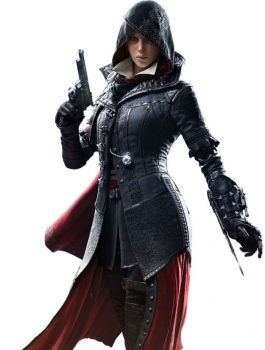 Assassin's Creed Syndicate Evie Frye Costume Coat