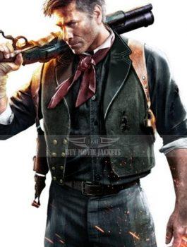 Video Game Bioshock Infinite Booker DeWitt Vest And Holster
