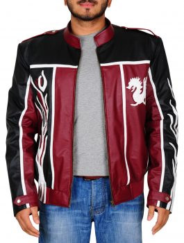 New Daniel Bryan WWE Black and Red Leather Jacket (1)