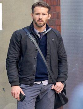 Ryan Reynolds Movie Criminal London Jacket