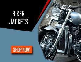 New Motorcycle Leather Jackets