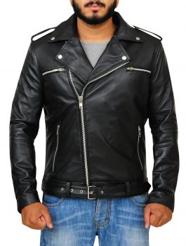 Jeffrey Dean Morgan The Walking Dead Comfortable Black Jacket