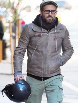 Ryan Reynolds Light Brown Jacket