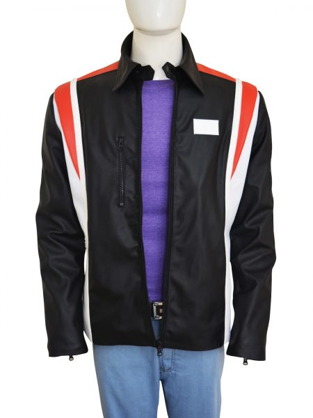 hugh-jackman-eddie-the-eagle-red-and-white-line-leather-jacket