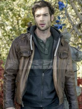ethan-peck-the-curse-of-sleeping-beauty-brown-jacket
