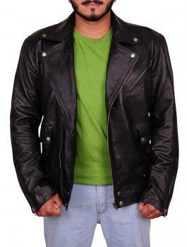 Ryan Reynolds Mens Biker Jacket