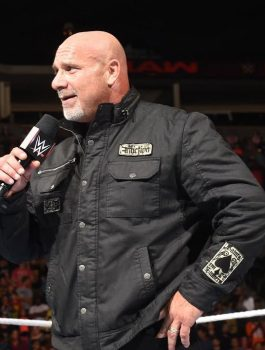 Goldberg Return WWE Black Jacket