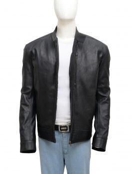 Tom Cruise Jack Reacher Never Go Back Leather Black Jacket